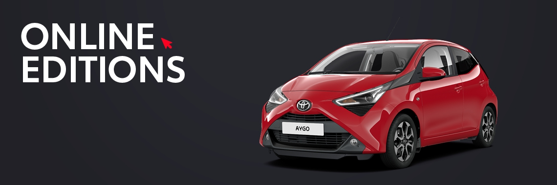 Aygo Private Lease Online Editions
