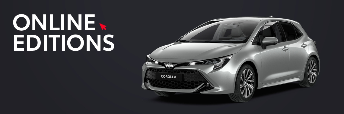 Corolla Hatchback Private Lease Online Editions